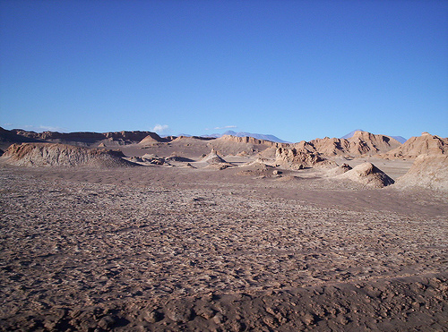 Desierto en Chile