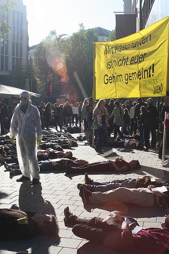 Protestas contra la energía nuclear en Alemania