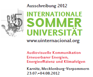 Internationale Sommeruniversität 2012