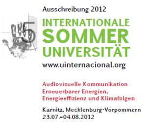 Internationale Sommeruniversität 2012