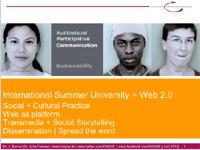 Internationale Sommeruniversität + Web 2.0