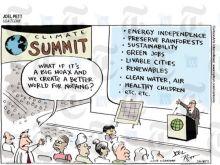 Umweltkonferenz Joel Pett US Today