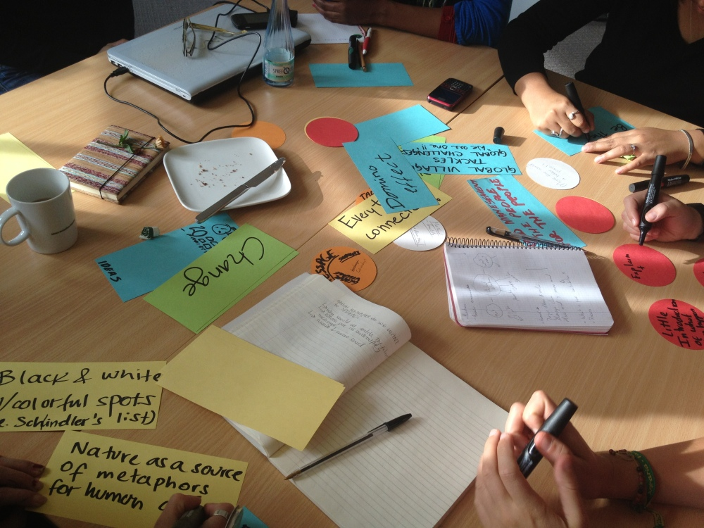 Ideas on the table