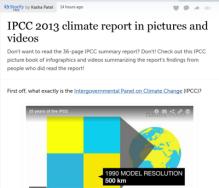 IPCC storify by Kesha Patel 2013