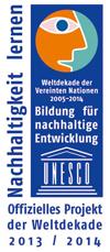 Offizielles Projekt der UNESCO Weltdekade 2013/2014