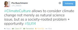 tweet #climateCulture