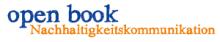 open book Nachhaltigkeitskommunikation