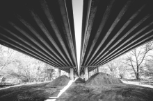 Two Long Ways: Under Highway, By Viktor Hanace, picjumbo