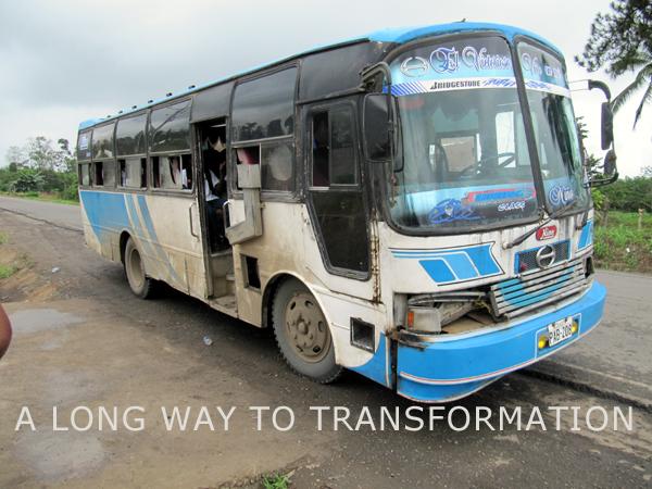 A long way to transformation | schoolbus