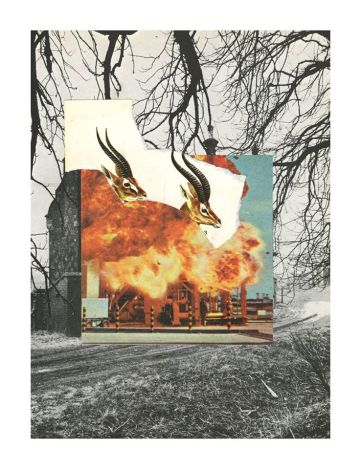 Collage análogo realizado por Nico Sagredo.