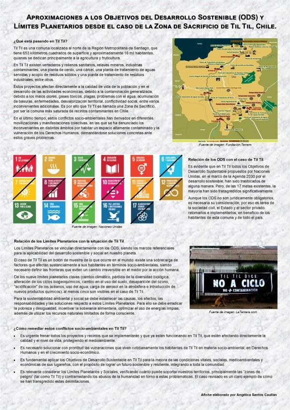 ODS y limites planetarios, caso de Til Til