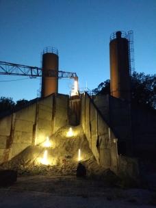 BetonWerk Stolpe Lichtinstallation